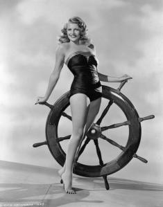 La gran Rita Hayworth, qui va mantindre una relació amb Orson Welles.